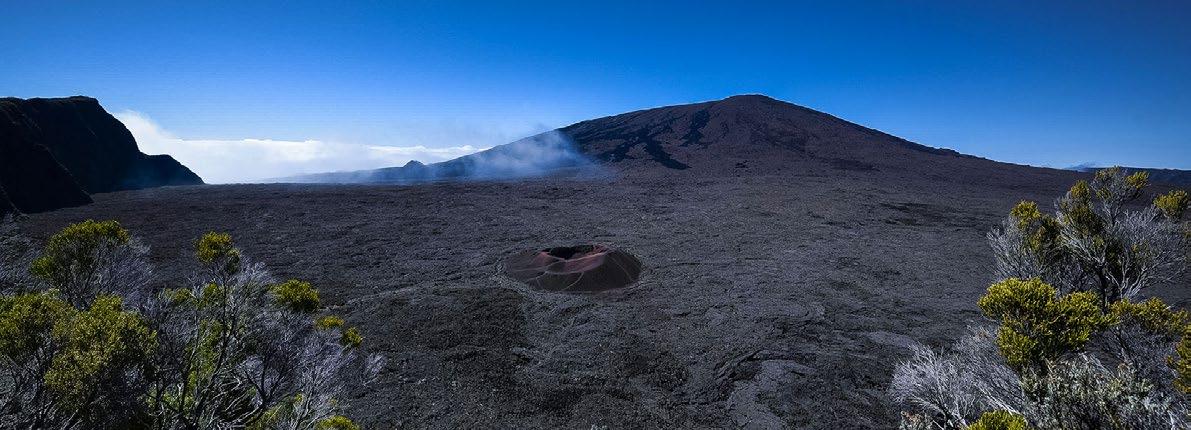 Reunión - Volcán, Ron y Vainilla